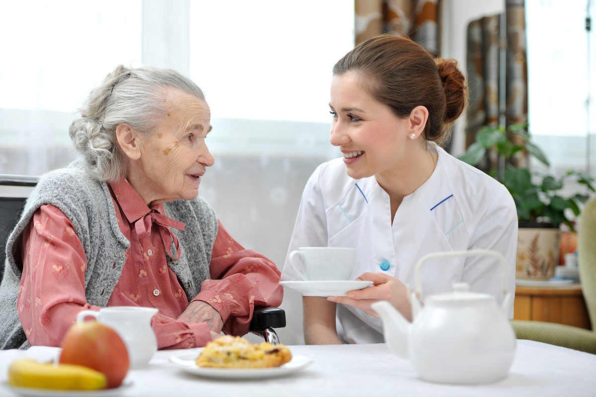 Senior in Aged Care